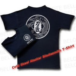 Cold Steel Master Bladesmith Kanji T Shirt Black Mens Medium TG1 New