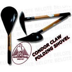 "Condor Claw 30"" Folding Shovel Carbon Steel CTK5060 NEW"