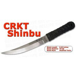 "CRKT Shinbu 9"" Tanto Fixed Blade w Kydex Sheath 2915"