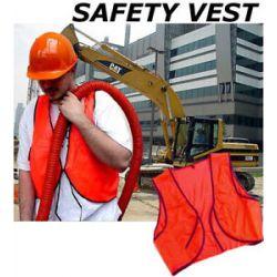 12 Lot Orange Safety Vest Vests Emergency Crossing New