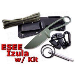 ESEE Izula OD Green Blade Complete Kit Izula OD Kit