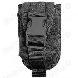 ESEE Accessory Pouch Black Bolts to The Front of The ESEE 5 or 6 ESEE 52 Pouch