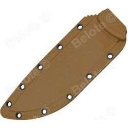 ESEE Model 6 Coyote Brown Sheath Will Fit All Configurations of Model 6 60CB