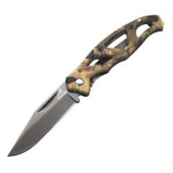 Gerber Paraframe Mini Camo Folding Knife Tac Hide Handle 31 000322 New