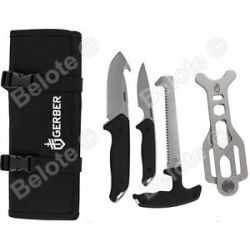 Gerber Moment Kit IV 4 Gut Hook Caping Knife Saw Rib Spreader 31 002686 New