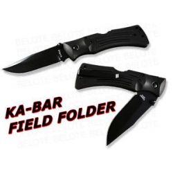 Ka Bar Kabar Knives Mule Folder Plain Edge w Sheath 3050 New
