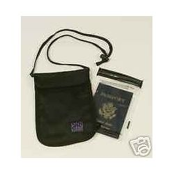 Splash Caddy Passport 5x7 Pouch Bag with 4 5x7 Aloksak