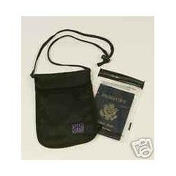 Splash Caddy Passport 5x7 Pouch Bag with 4 5x7 Aloksak