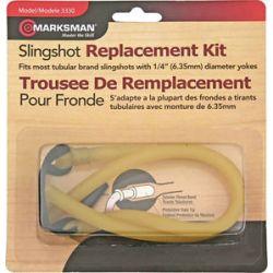 """Marksman Slingshot Replacement Band Kit 1 4"""" Yoke 3330 New"""