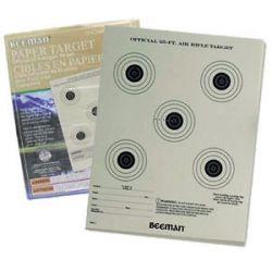 "Marksman Beeman 25 Pack 7"" x 9"" Official 25ft Airgun Paper Target 2099 New"