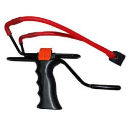 Marksman Adjustable Slingshot w Tapered Band Wrist Support 3061 New