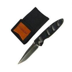 Mcusta MC 2 w Nylon Pouch Micarta Handle VG 10 Blade Folding Knife MC 22