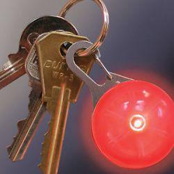 Nite Ize Spotlit Carabiner Orange Plastic White LED Light SLG19 06 02