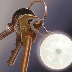 Nite Ize Spotlit Carabiner Pink Plastic White LED Light SLG12 06 02