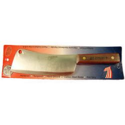 "Ontario Old Hickory 7"" Cleaver Carbon Steel 7060 New"