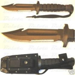 Ontario Knife Spec Plus SP24 USN 1 Survival Knife 8480