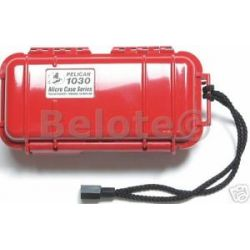 Pelican Micro Case Solid Red 1030 New 7 5 x 3 85 x 2 45