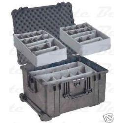 Pelican 1624 Case Cases Black w Dividers 24 75x19 5x14
