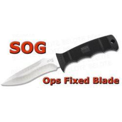 S O G SOG Ops Fixed Blade w Kydex Sheath M40 K New