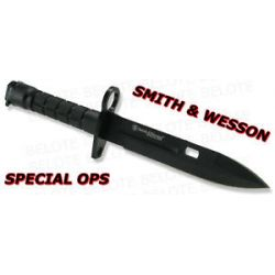 Smith Wesson Special Ops Blk Commando M9 Bayonet SW1B