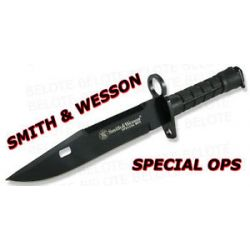Smith Wesson Spec Ops Blk Challenger M9 Bayonet SW2B