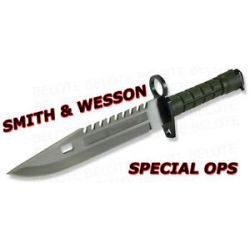 Smith Wesson Green Special Force M9 Bayonet SW3G New