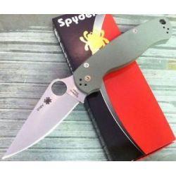 Spyderco Numberd Exclusive Paramilitary 2 Plainedg Grn G 10 Elmax Steel C81GFGP2