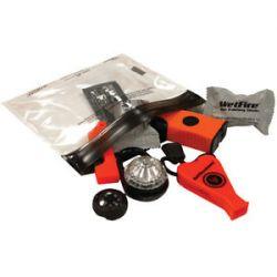 Ultimate Survival Base Kit 3 0 Orange Firestarter Floating Whistle 20 703 01