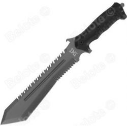 "United Cutlery M48 Ops Combat Sawback BOWIE16"" Full Tang MOLLE Sheath UC3024"