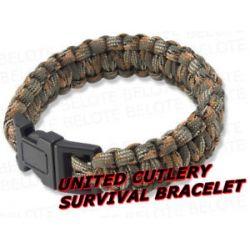 United Cutlery Elite Forces Paracord Survival Bracelet UC2764