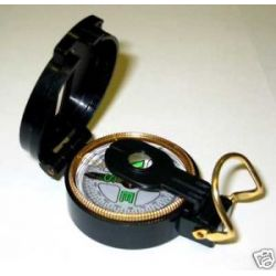 12 Lot Black Lensatic Compasses Wholesale Scout New