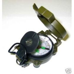 12 Lot Metal Marching Lensatic Compasses New Wholesale