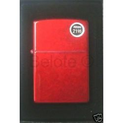 Zippo Candy Apple Red Lighter Model 21063 New