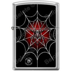Zippo Anne Stokes Collection Spiderweb High Polish Chrome Windproof Lighter New