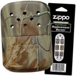Zippo Realtree Camo Refillable Hand Warmer Additional Burner 40314 40289 44003