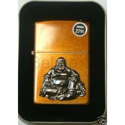 Zippo Budda Emblem Toffee Lighter Model 21195 New