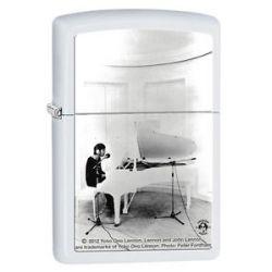 Zippo White Matte John Lennon Windproof Lighter 28731 New