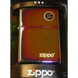 Zippo Spectrum w Zippo Logo Lighter Model 151ZL New