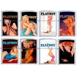 Zippo Playboy Cover 8 Lighter Set Pin Up Pinup RARE Set 1 New L K