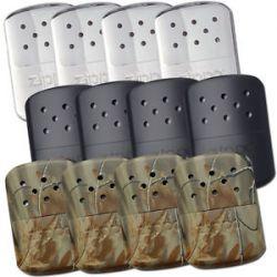 Zippo Lot Set of 12 Refillable Hand Warmer Chrome Black Camo 40306 40310 40314