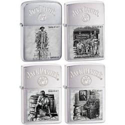 Zippo Limited Jack Daniel's Lynchburg SCENES1 2 3 4 28736 28737 28755 28756