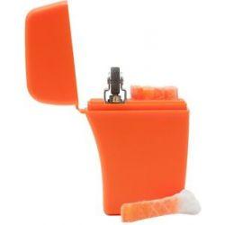 Zippo Emergency Fire Starter w 4 Water Resistant Waxed Tinder Sticks 44021 New