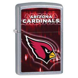 Zippo 2014 NFL Arizona Cardinals Street Chrome Lighter Brand New in Box 28590