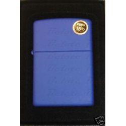 Zippo Regular Royal Blue Matte Lighter Model 229 Lifetime GUARANTEE New L K