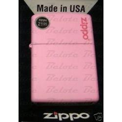 Zippo Pink Matte Lighter w Zippo Logo 238ZL New in Box