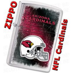 Zippo 2011 NFL Arizona Cardinals Chrome Lighter 28202