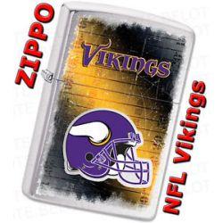 Zippo 2011 NFL Minnesota Vikings Chrome Lighter 28227