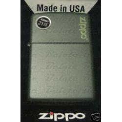 Zippo Green Matte Lighter w Zippo Logo 221ZL New