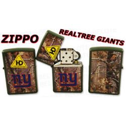 Zippo NFL New York Giants HD Realtree Lighter 28101 New