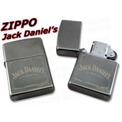 Zippo Jack Daniel's Black Ice Lighter 28012 New